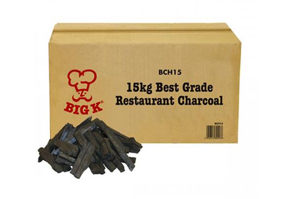 Big K Restaurant Grade Lumpwood Charcoal Hardwood 15Kg for BBQ Barbeque Outdoor Party We Can Source It Ltd