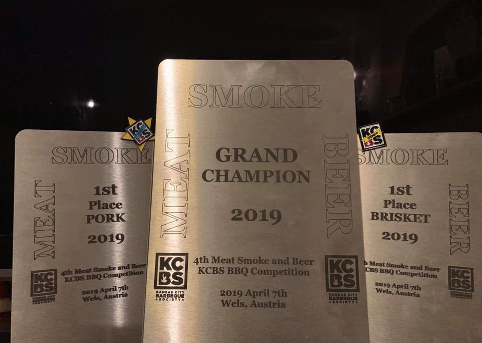 Bunch of Swines Big K sponsored BBQ team awards