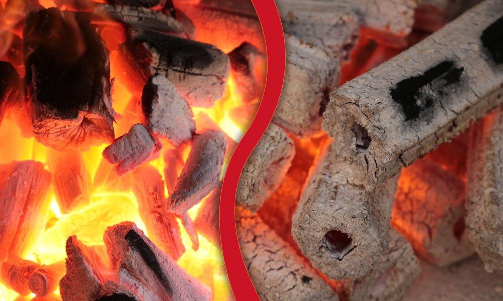Lumpwood charcoal vs briquettes