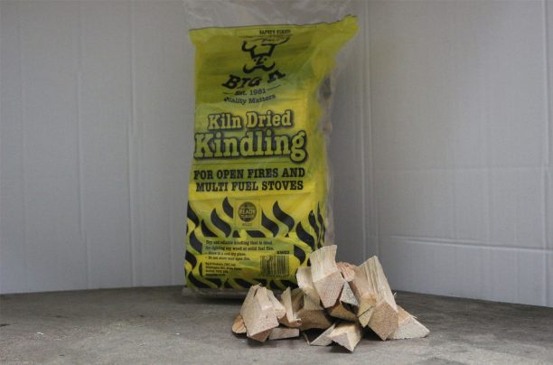 Kiln dried kindling bag