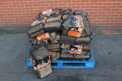 Half pallet of kiln dried kindling wood