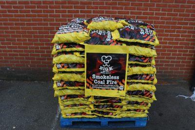 Full pallet of 10kg smokeless coal
