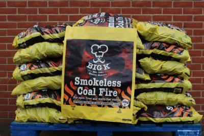 Half pallet of 10kg smokeless coal
