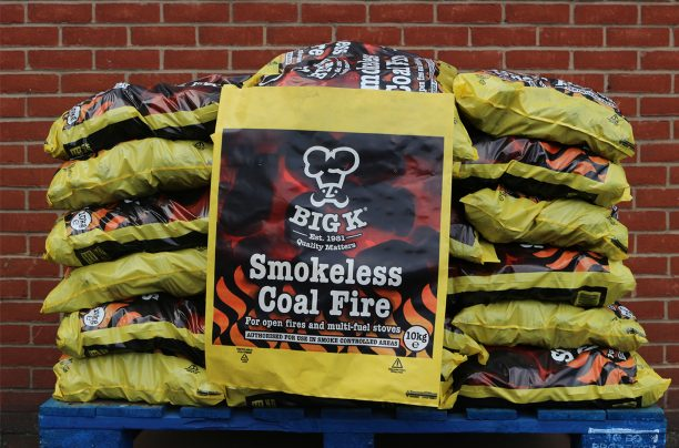 Half pallet of 10kg smokeless coal