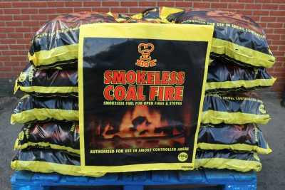 Half pallet of 20kg smokeless coal