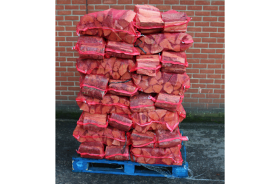 full pallet of lgp10 kiln dried natural pizza logs