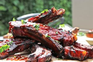 st louis style chipotle and bourbon bbq ribs