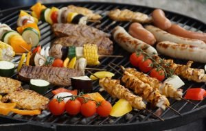 delicious food from a great BBQ menu sizzle and cook on a hot grill