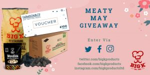 All the prizes you can win in the Meaty May Giveaway competition and how to enter