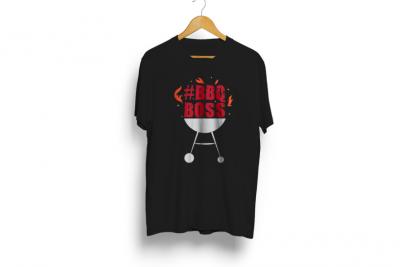 BBQ Boss T Shirt - Black