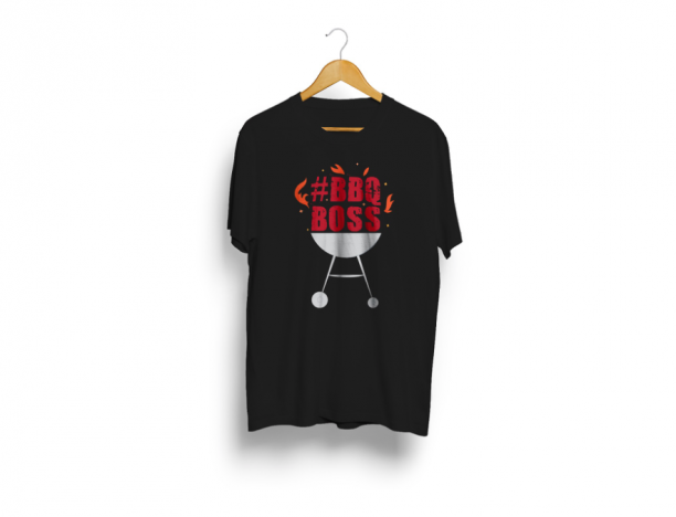 BBQ Boss T Shirt - Black